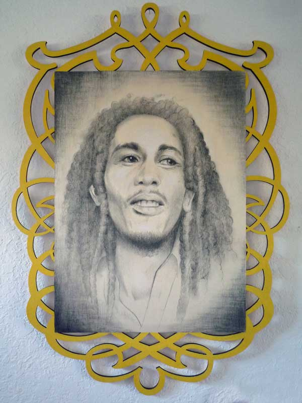 "Bob Marley • 16"" x 22"""