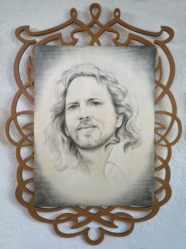 """Eddie Vedder • 16"""" x 22"""""""