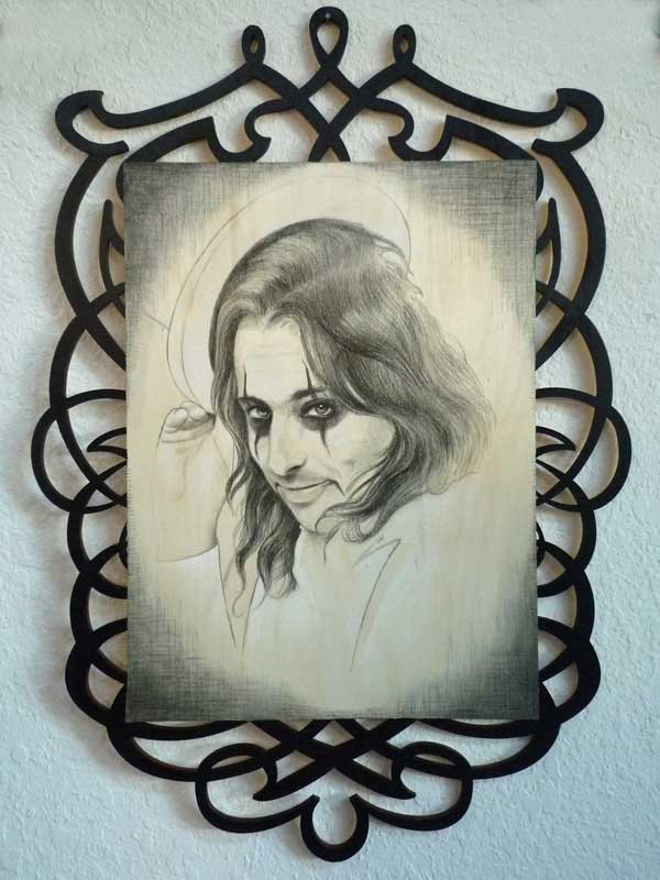 "Alice Cooper • 16"" x 22"""