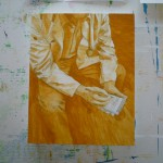 I'm going to have to buy more yellow ochre soon!