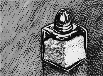 Salt shaker on an ATC