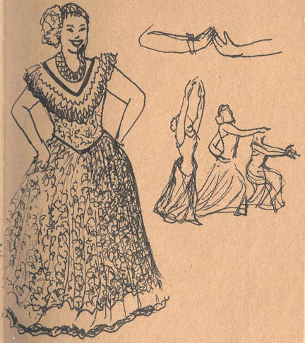 Merrie Monarch sketches