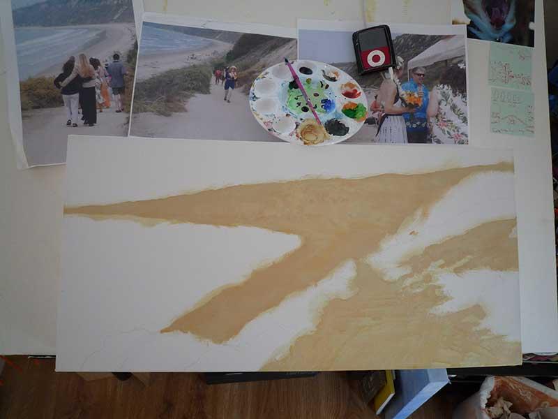 Sand foundation