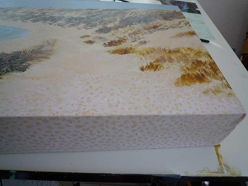 Sand texturing