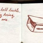 Part of airplane seatbelt
