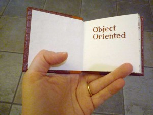 Object Oriented, the book