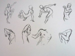 1-2 minutes poses