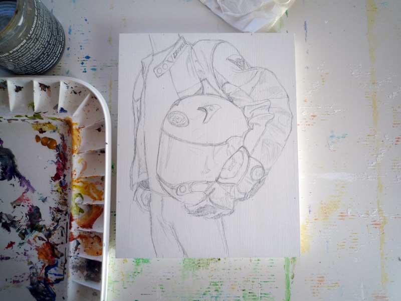 Starting sketch