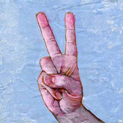 """Peace • 6"""" x 6"""""""