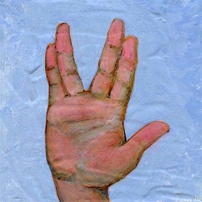 "Live Long & Prosper • 6"" x 6"""
