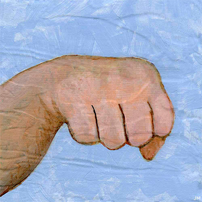 "Fistbump • 6"" x 6"""