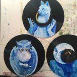 3rd tone: ultramarine blue