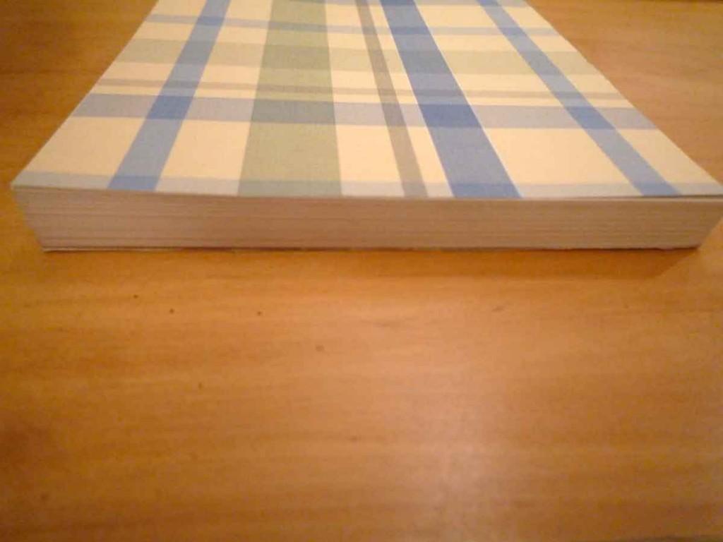 Paperback perfect binding (edge)