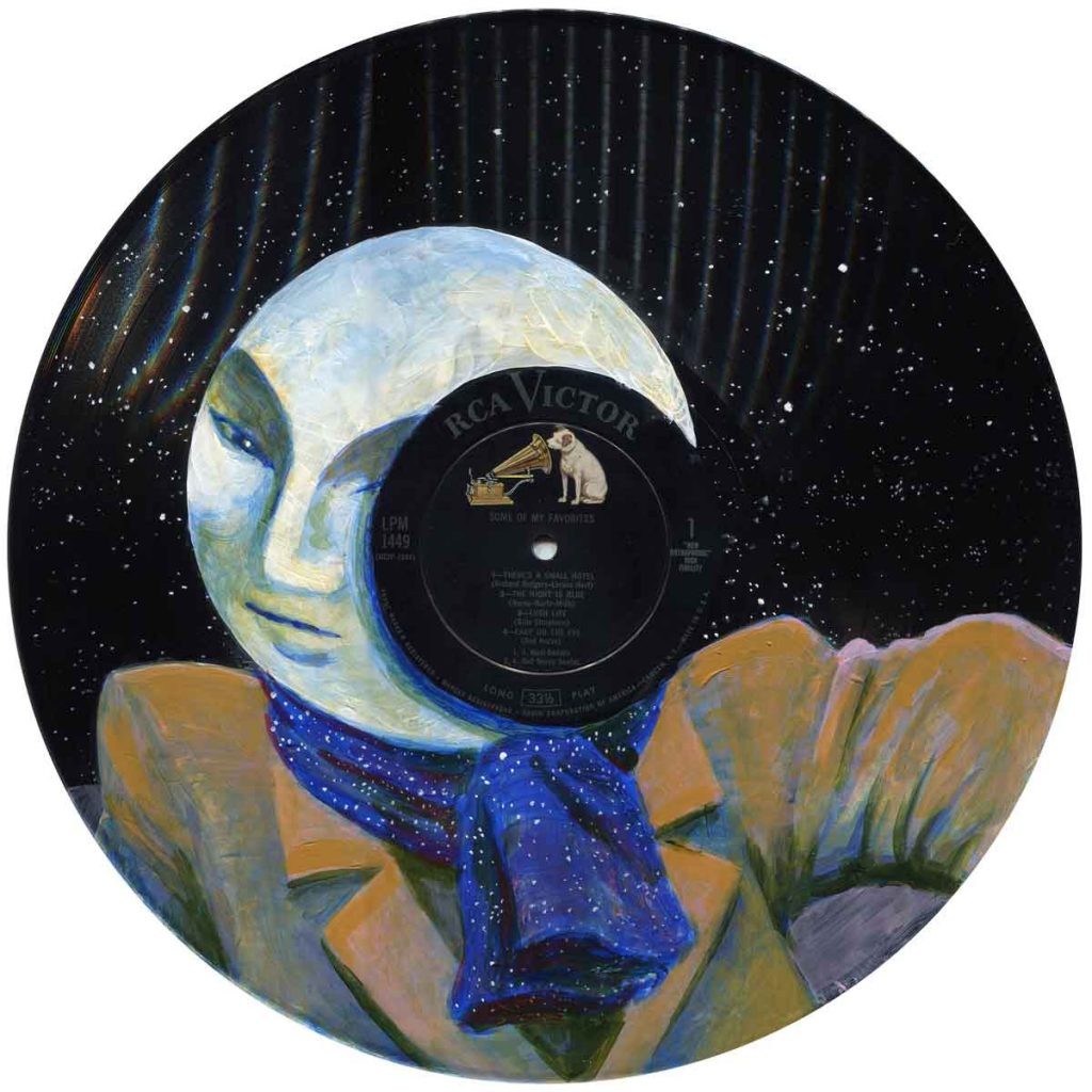 "The Man In the Moon • 12"" x 12"""