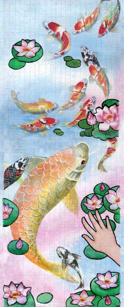 """Ye Xian (the """"Chinese Cinderalla"""") • 12.5"""" x 30"""""""
