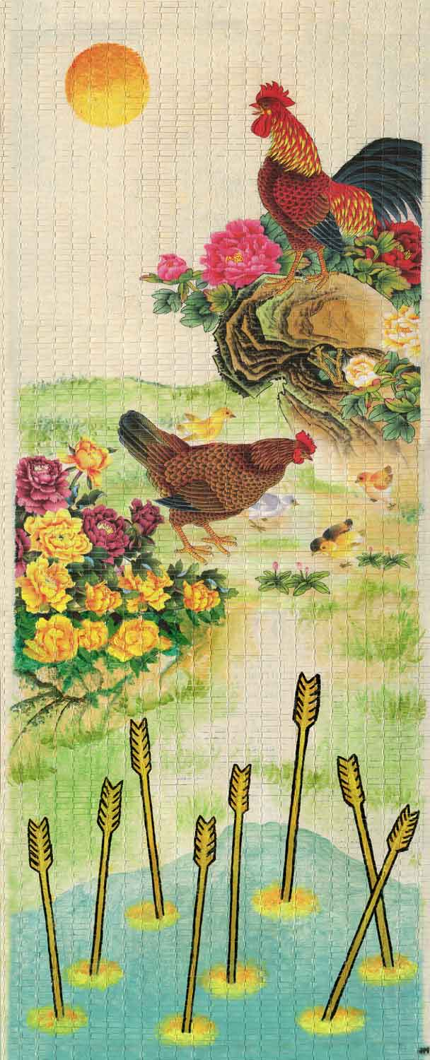 """The Rooster's Crown • 12.5"""" x 29"""""""