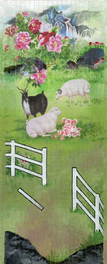 """The Farmer's Fence • 12.5"""" x 30"""""""