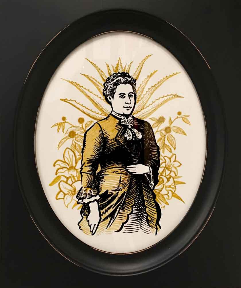 Illustration of Edith O'Gorman