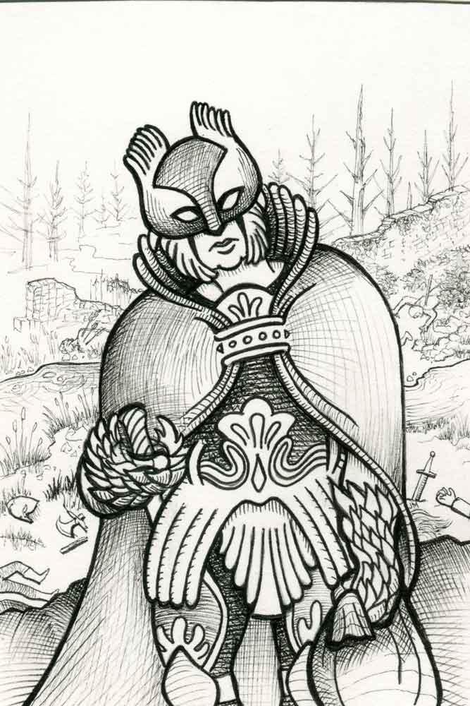 Bronze Warrior I detail