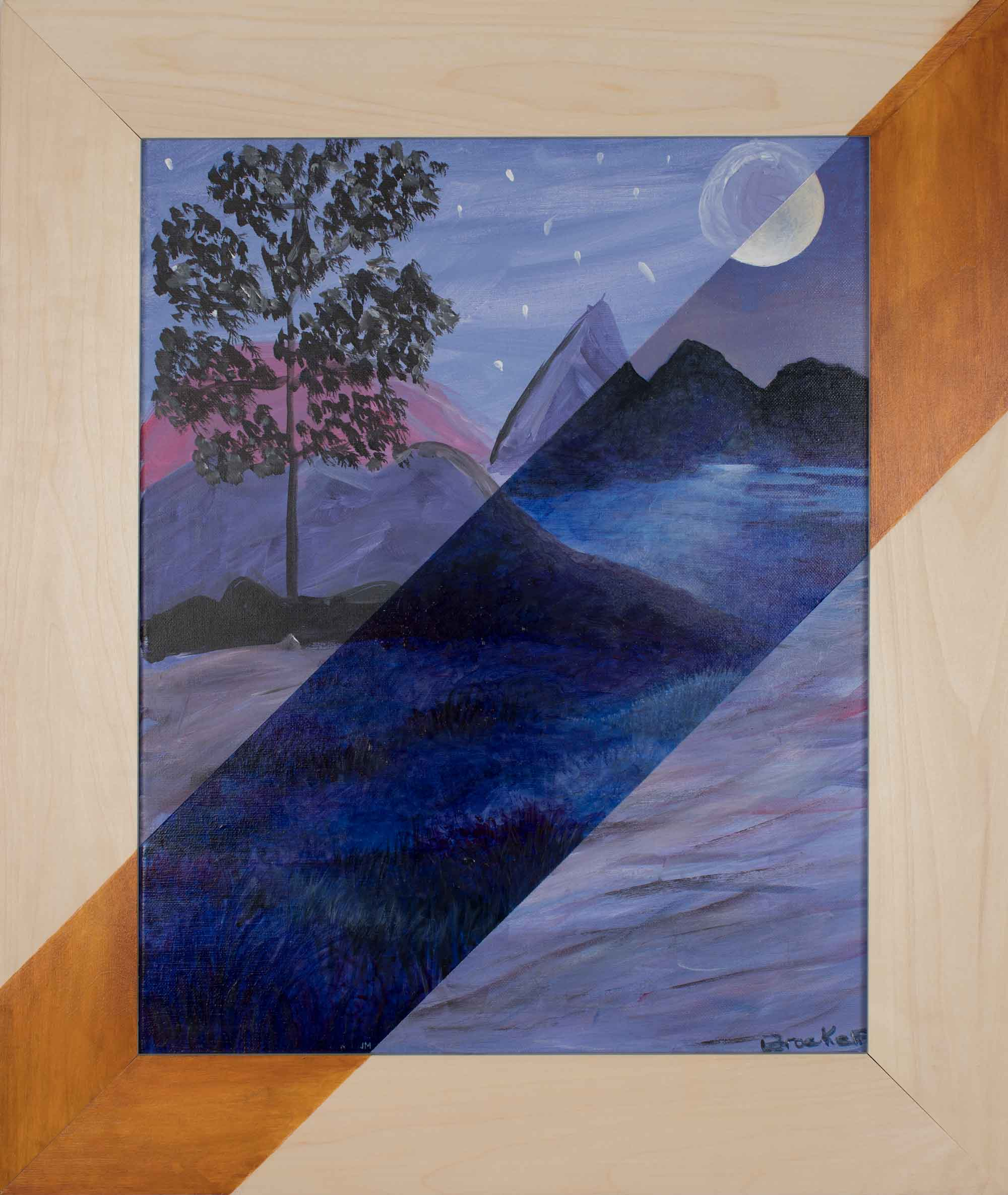 Night Mountains / Brooke P