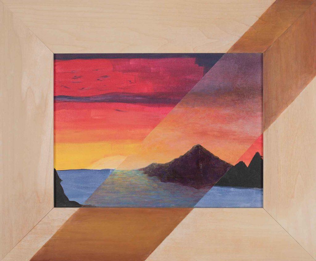 Ocean Sunset / Anonymous
