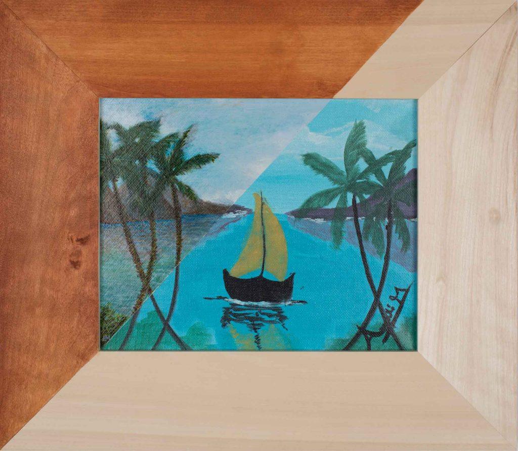 Tropical Sailboat / Annie M