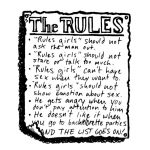 """""""Wanna man? Don't play by 'The Rules'"""""""