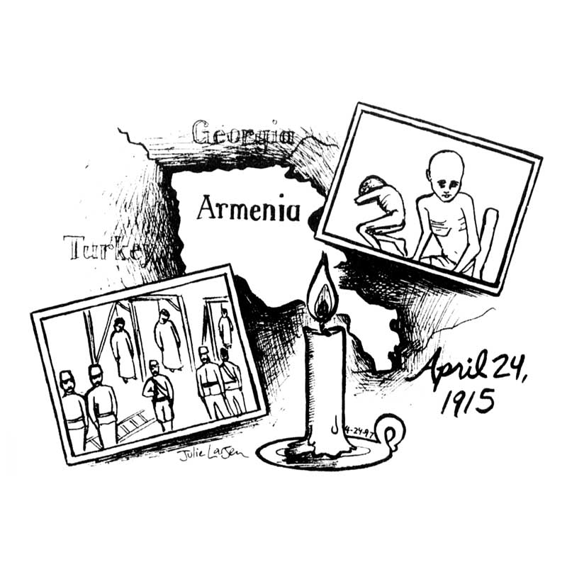 """Remembering the Armenian Genocide"""