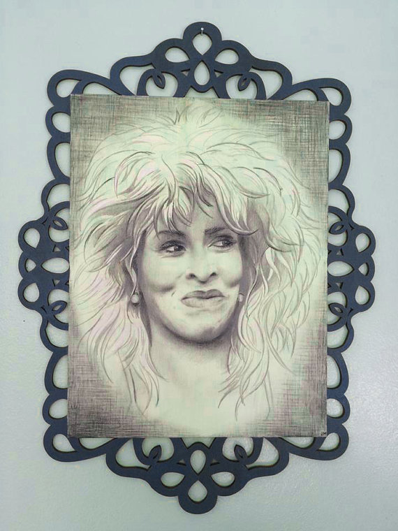 """Tina Turner • 15.75"""" x 21.5"""""""